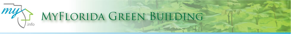 MyFlorida Green Building Web Site Banner.